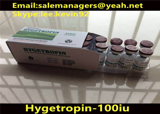 Chiny Wstrzyknięcie Hygetropin Hgh Weight Loss Hormones Cas 96827-07-5 For Fat Mobilization dystrybutor
